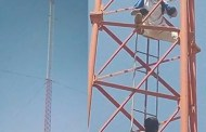 Man Climbs Telecom Mast, Threatens To Commit Suicide After Fiancee's Father Rejected His Marriage Proposal