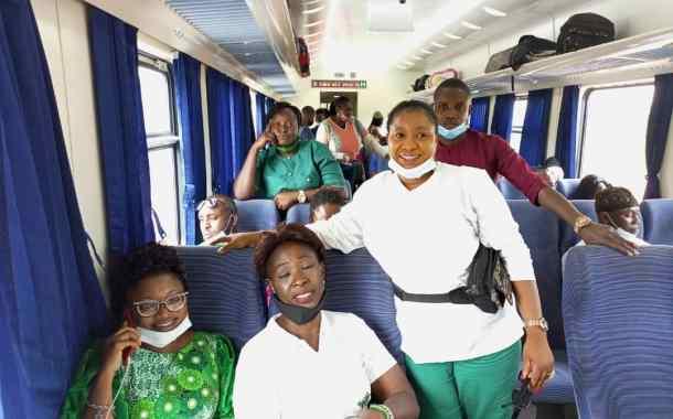 Images As Kami-J Members Take Memorable Train Trip To Ibadan