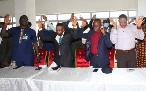 NDDC Dedicates New Headquarters To God