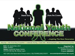 National Youth Conference Gets New Date