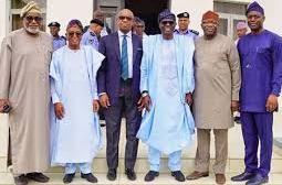 Oyo Dep Gov, 5 S'West Governors Meet, Visit Tinubu