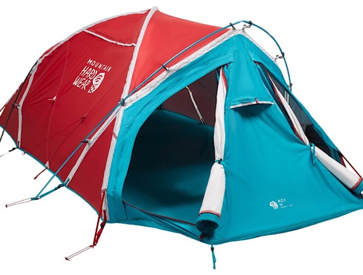 Mountain Hardwear tent