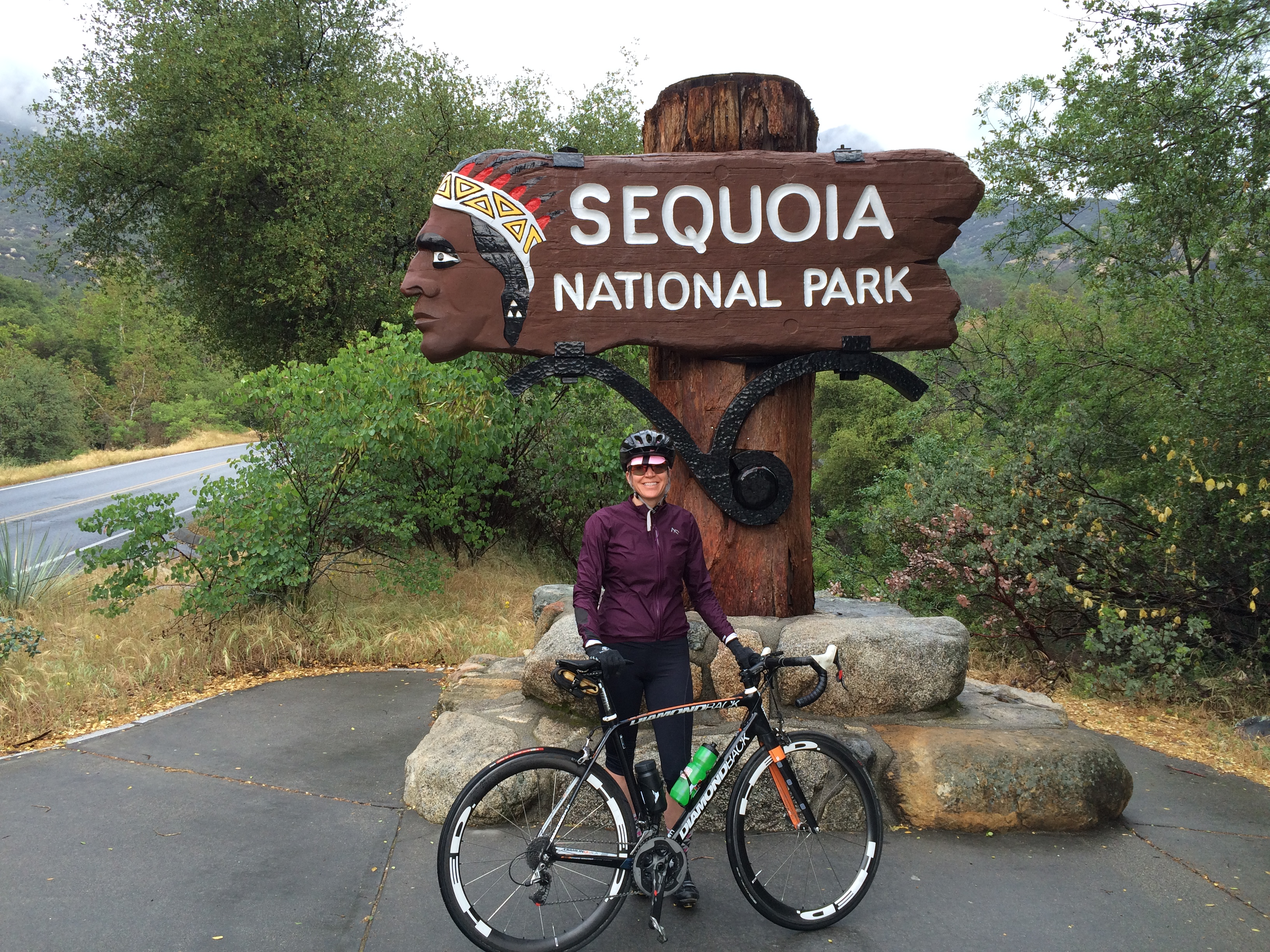 Cycling Sequoia