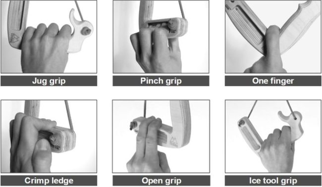 grip positions