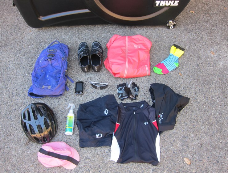 Gear for cycling Japan