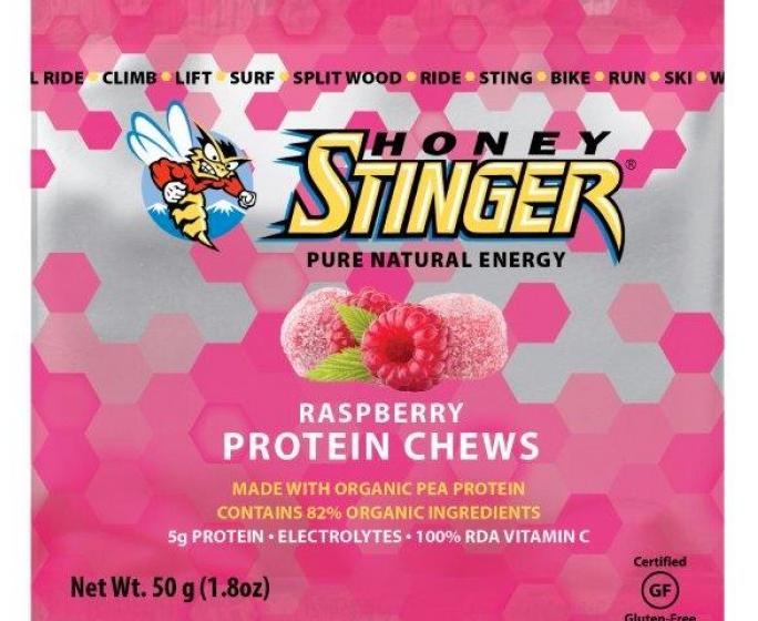 Raspberry Protein Chews