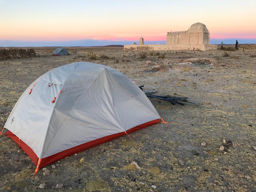 Camp in Bolivia