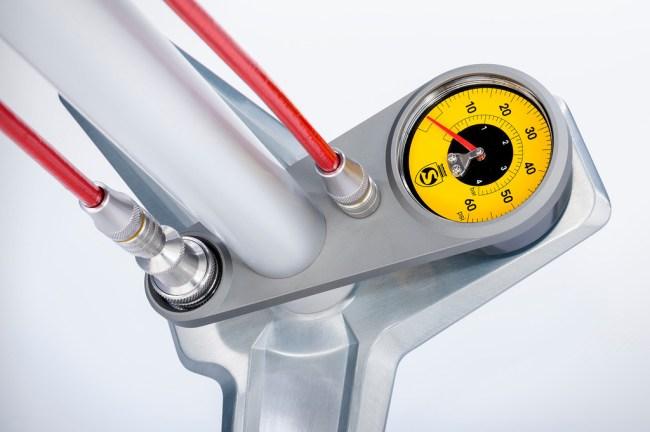 Silca low pressure floor pump