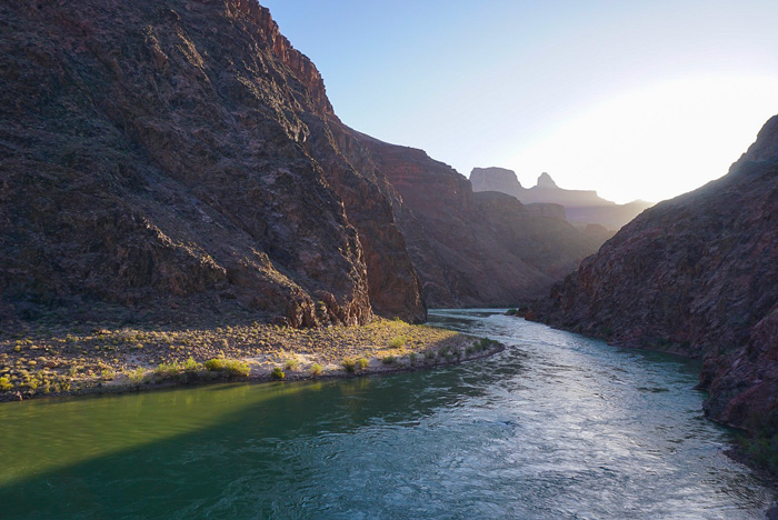 Sunrise Colorado River