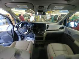 Look closely and you'll notice the front seats are mounted to pedestals allowing them to be removed.