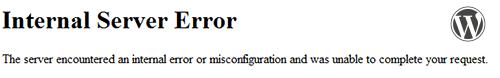 500 internal server error image
