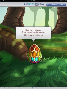 Hatchlings Facebook game