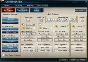 Swordsman-Control-scheme