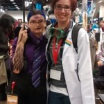 Cecil and Carlos (Welcome to Night Vale) cosplayers!