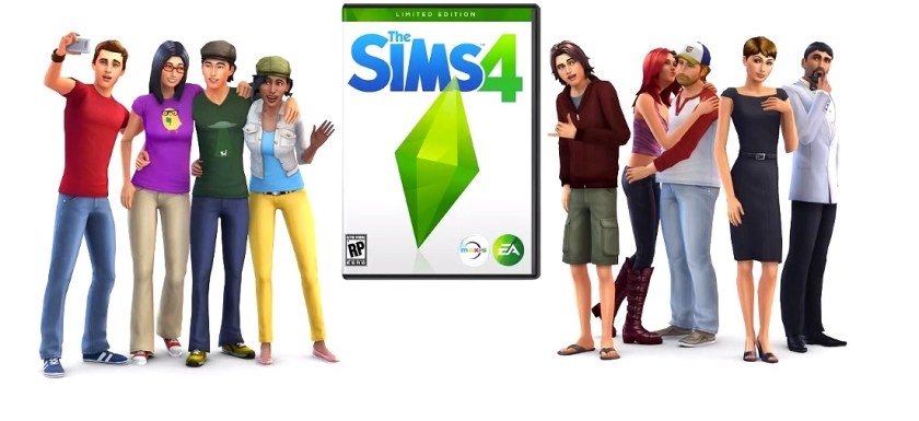 The Sims 4 game art