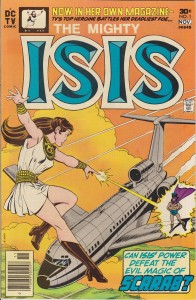 """The Mighty Isis,"" DC Comics, November 1976"