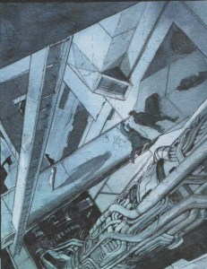 Descender issue 1 March 2015 interior of mining colony