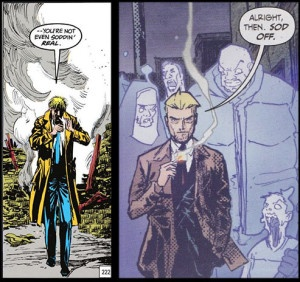 John Constantine Shot to Hell