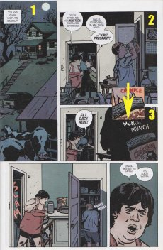 """""""Outcast,"""" issue 1, October 2014, Image Comics"""