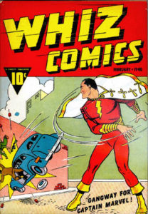"""Whiz Comics,"" Issue 2, Feb 1940, Fawcett Comics"