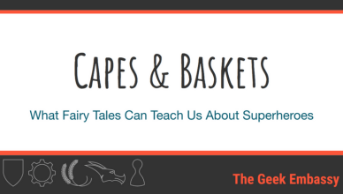 Capes and Baskets: What Fairy Tales Can Teach Us About Superheroes