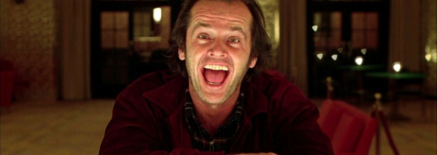 Jack Nicholson as Jack Torrance in The Shining
