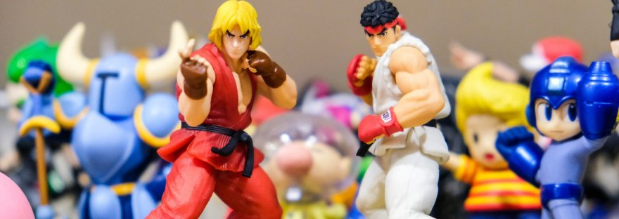 Street Fighter figures