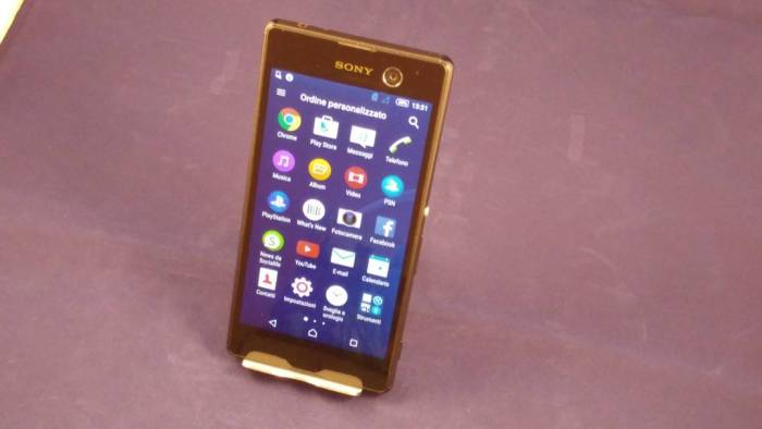 Sony Xperia M5 Drawer completo