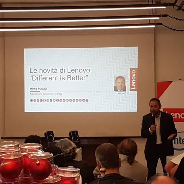 Evento Lenovo