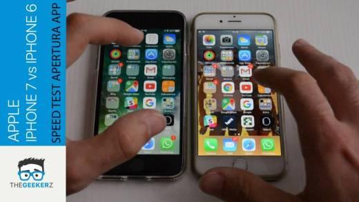 iPhone 7 vs iPhone 6