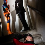 Deathstroke and Two-Face capture Robin!
