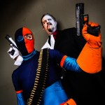 Two-Face and Deathstroke