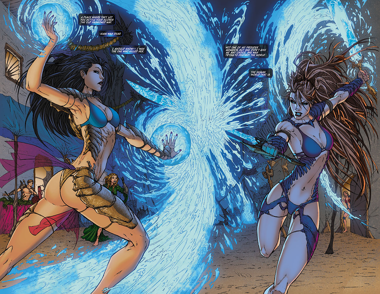 Aspen Comics Preview Fathom The Elite Saga 3  The Geek