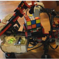 LEGO Mindstorms: MindCub3r Robot Build 2016