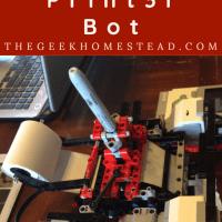 Lego Mindstorms: Banner Print3r Bot