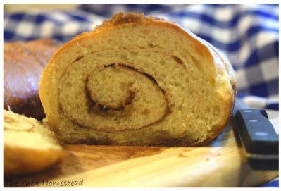 Baking Bread: Cinnamon Swirl Bread