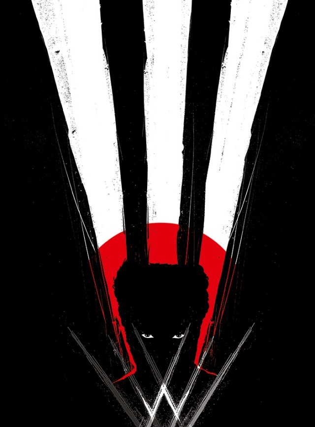 'The Wolverine' movie poster by Yannis Ger