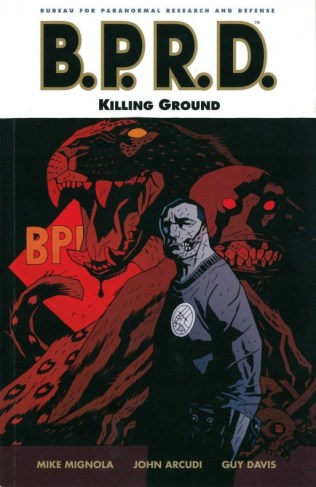 BPRD Killing Ground cover