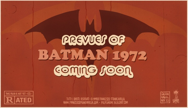 Batman 1972 Coming Soon