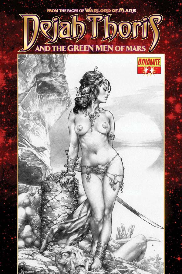 Dejah Thoris and the Green Men of Mars #2 cover by Jay Anacleto