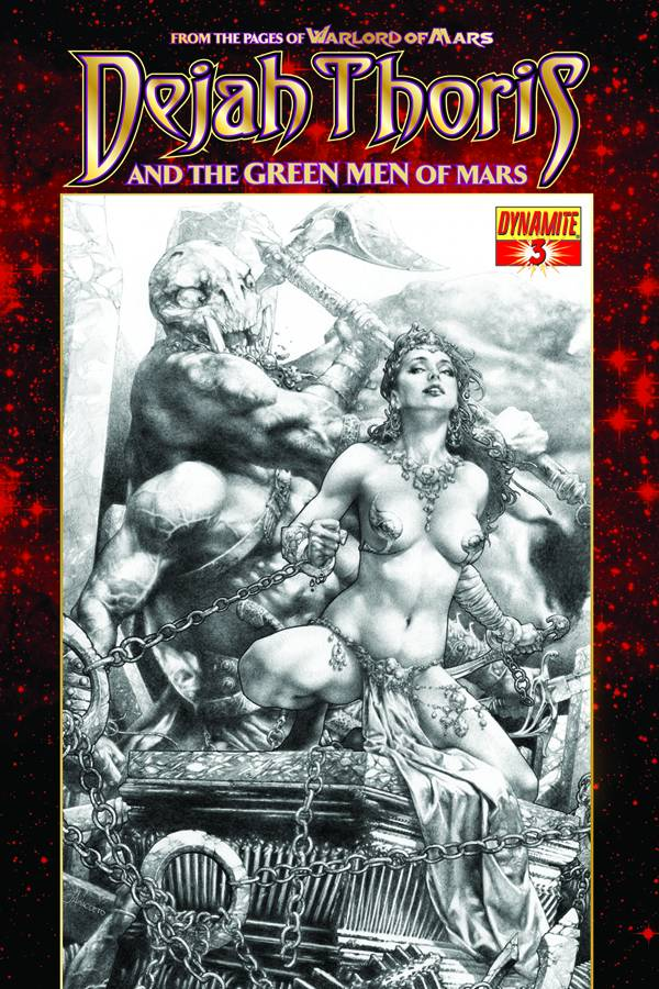 Dejah Thoris and the Green Men of Mars #3 cover by Jay Anacleto