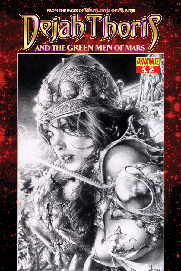 Dejah Thoris and the Green Men of Mars #4 cover by Jay Anacleto