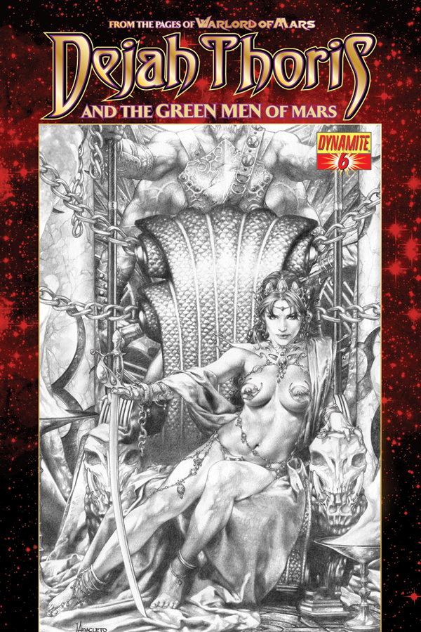 Dejah Thoris and the Green Men of Mars #6 cover by Jay Anacleto