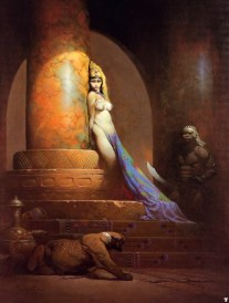 Egyptian Queen by Frank Frazetta
