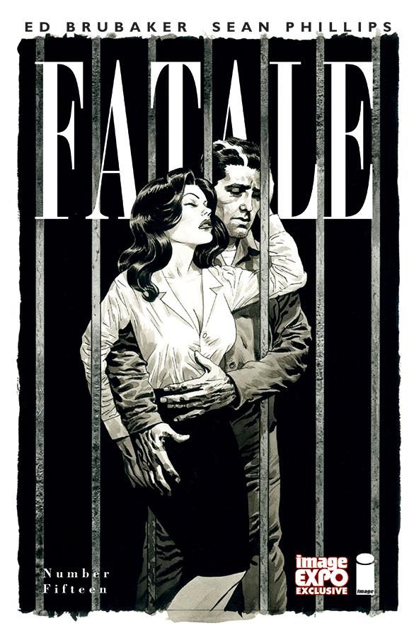 Fatale #15 Image Expo exclusive cover by Sean Phillips