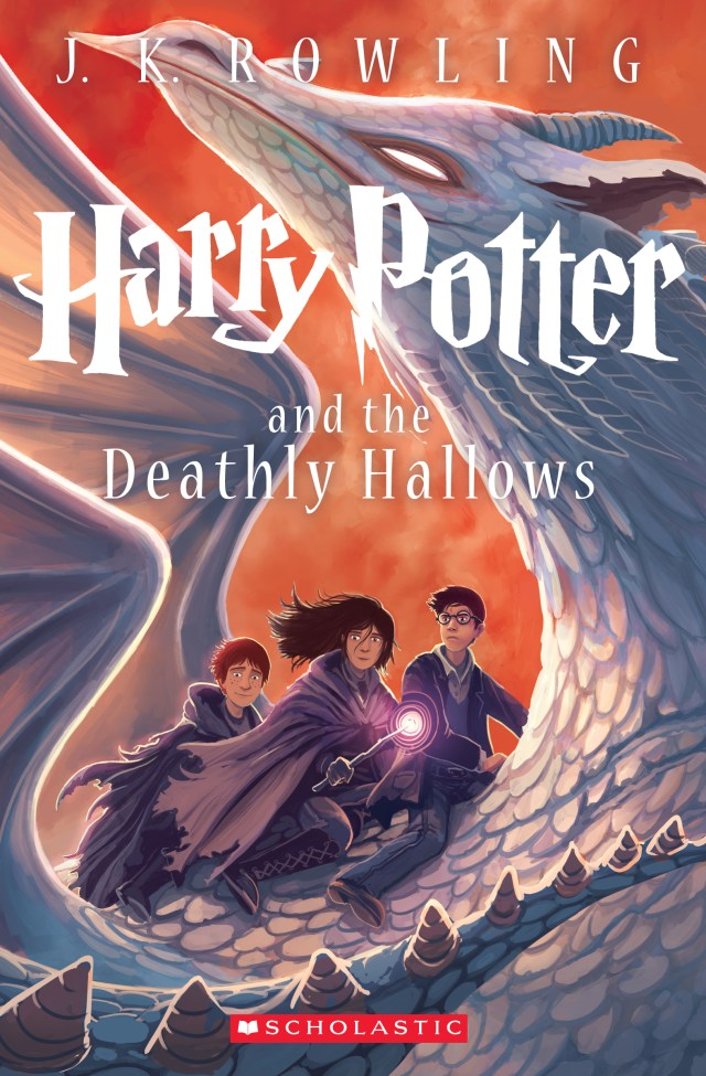 'Harry Potter and the deathly hallows' cover by Kazu Kibuishi