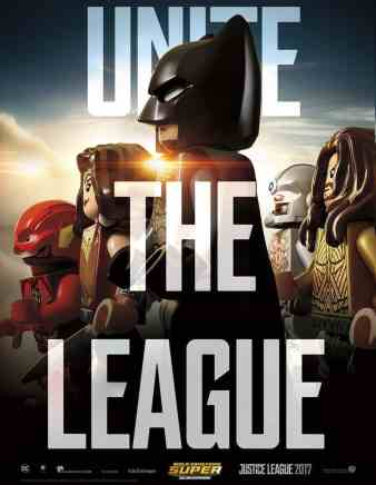 Justice League LEGO poster
