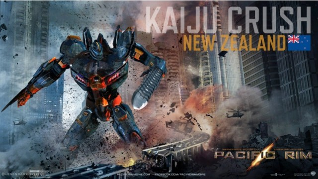 Pacific Rim Kaiju Crush New Zealand