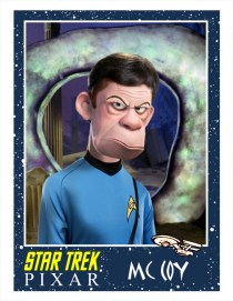 Pixar Star Trek McCoy