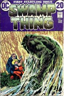 Swamp Thing #1 cover